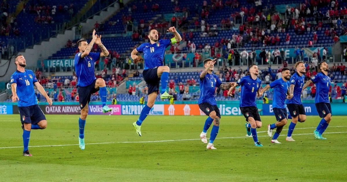 Euforia popolare per gli Azzurri di Mancini