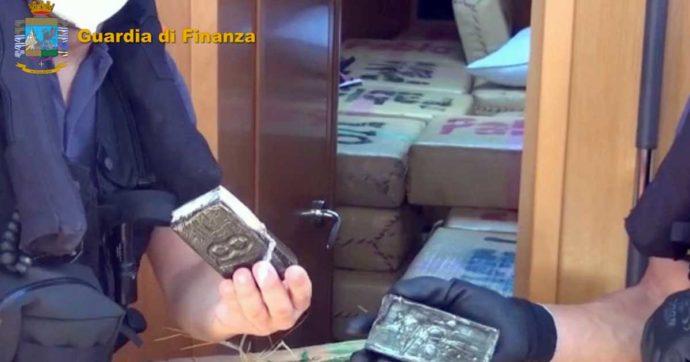 Palermo, sei tonnellate di hashish nascoste nel veliero: la Guardia di Finanza arresta tre cittadini bulgari