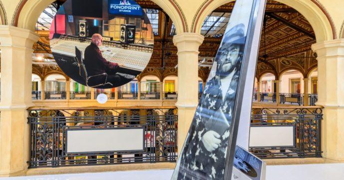 Sala della Musica a Bologna con le storie e le curiosità su Vasco Rossi, Gianni Morandi, Francesco Guccini e Lucio Dalla