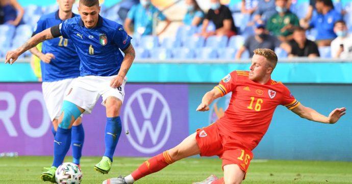 Ascolti tv, la Nazionale 'vola': Italia-Galles sfiora il 70% di share, su Canale 5 Caduta Libera sprofonda al 5%
