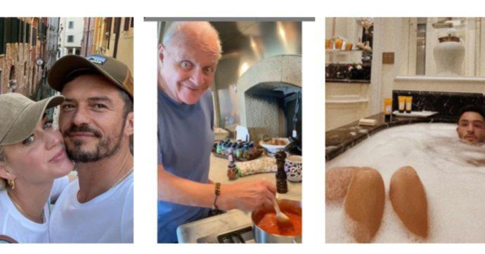 Vacanze in Italia, da Katy Perry e Orlando Bloom a Robert Downey Jr. e Bono Vox: ecco dove sono