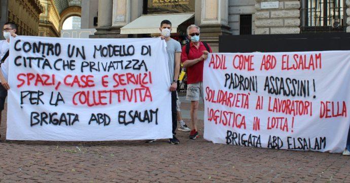 """Milano, la protesta delle Brigate volontarie davanti al Comune contro """"un modello di città che privatizza"""""""