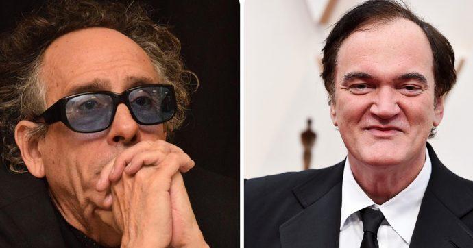 """Festa del Cinema di Roma 2021, Tim Burton e Quentin Tarantino premi alla carriera. Il regista di Pulp Fiction: """"Fantastico"""""""