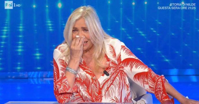 """Domenica In, gli ospiti danno buca per la partita dell'Italia. Mara Venier sbotta: """"Non è una cosa molto garbata"""""""