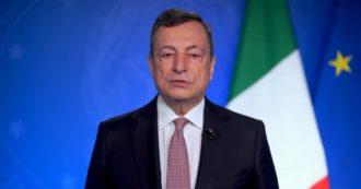 """Draghi: """"Discriminare le donne è immorale e miope. In Italia, a questo ritmo, parità di genere nelle cariche ministeriali non prima del 2077"""""""