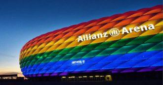 """Europei, Germania-Ungheria: l'Uefa nega a Monaco la possibilità di avere lo stadio color arcobaleno. Il sindaco: """"Scelta vergognosa"""""""