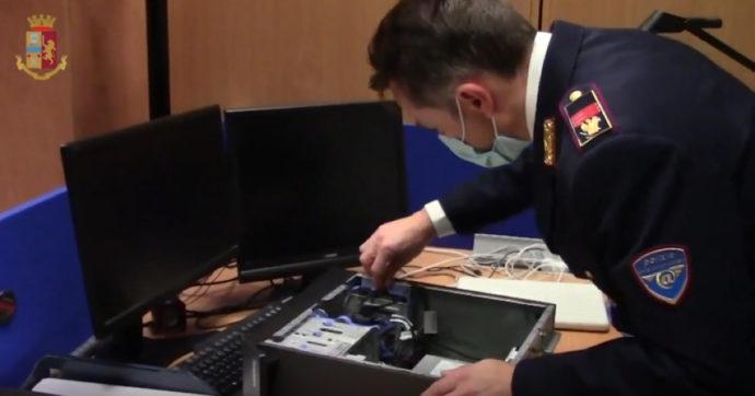 """Pedopornografia, operazione """"Web Oscuro"""": la Polizia postale sequestra oltre 30mila file e arresta un 52enne di Gorizia"""