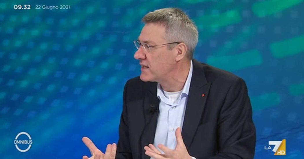 """Blocco licenziamenti, Landini a La7: """"Chiediamo al governo di prorogarlo al 31 ottobre. C'è un serio rischio per tenuta democratica del Paese"""""""