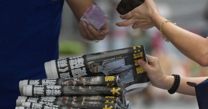 """Hong Kong, chiude il giornale pro democrazia Apple Daily. L'accusa di Pechino: """"Collusione con forze straniere"""""""