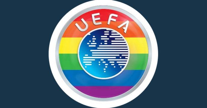 Europei, Germania-Ungheria: l'Uefa colora il suo simbolo con l'arcobaleno. Orban sceglie di non essere presente alla partita