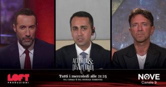 """Luigi di Maio ad Accordi&Disaccordi: """"Lo scontro tra Grillo e Conte? C'è un confronto costruttivo. Alla fine si troverà una soluzione"""""""