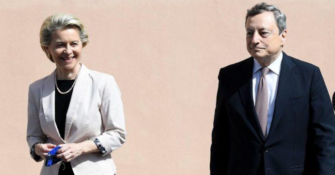 Recovery, il discorso di Draghi davanti a Ursula Von der Leyen nasconde il suo tallone d'Achille