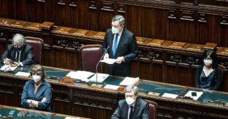 """Migranti, Draghi: """"Gestione dei flussi non può essere solo italiana. Va superato Regolamento di Dublino, appartiene a un'altra fase storica"""""""