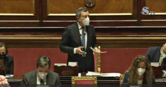 """Ddl Zan, Draghi: """"Il nostro è uno Stato laico, il Parlamento è libero di discutere. Ci sono tutte le garanzie per rispettare il Concordato"""""""