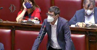 Ddl Zan, la única persona que habla en la sala es Fratoianni:
