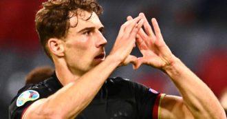 Leon Goretzka, un calciatore che si schiera: chi è il centrocampista che ha salvato la Germania e mostrato il cuore per i diritti Lgbt