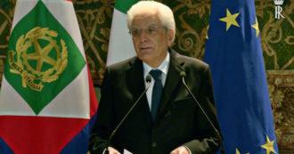 """Cernobbio, Mattarella: """"L'Ue deve avere una politica estera e di sicurezza comune: solo così può contribuire a pace e diffusione dei diritti"""""""
