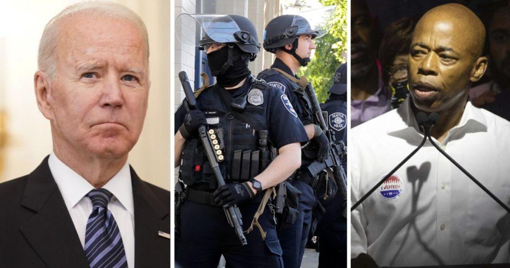 """Usa, New York sceglie un candidato sindaco """"sceriffo"""" alle primarie dem. E Biden si (ri)scopre duro sulla sicurezza per non perdere voti nel 2022"""