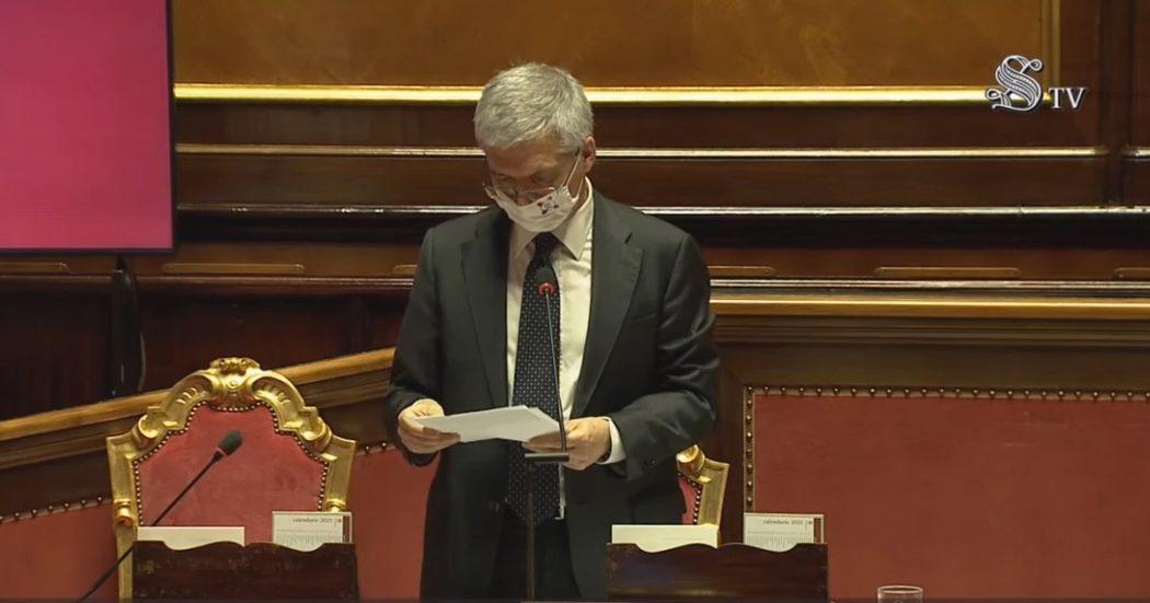 """Sostegni bis, Franco spiega perché i contributi sono partiti in ritardo: """"Commissione Ue ha fatto delle verifiche"""""""