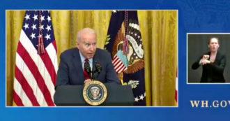 """Biden: """"Cosa dico agli imprenditori che sostengono di non trovare lavoratori? Pagateli di più"""" – Video"""