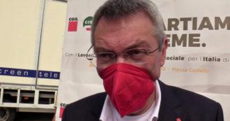 """Landini: """"Lavoro? C'è troppo sfruttamento, chiediamo la proroga del blocco dei licenziamenti al 31 ottobre"""" – Video"""