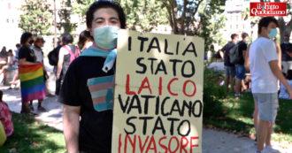 """Roma Pride, le testimonianze delle persone Lgbtq: """"Ancora troppe discriminazioni, col ddl Zan ci sentiamo più protetti"""" – Video"""