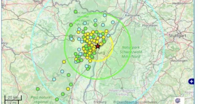 """Strasburgo, scossa di terremoto di magnitudo 4.4: """"Provocato da test geotermici condotti dall'azienda Fornoche"""""""