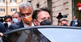 """Scontro dentro M5s, alle 17.30 la conferenza stampa di Conte. Ieri la telefonata con Grillo: """"Spiragli nella trattativa, ma restano distanze"""""""