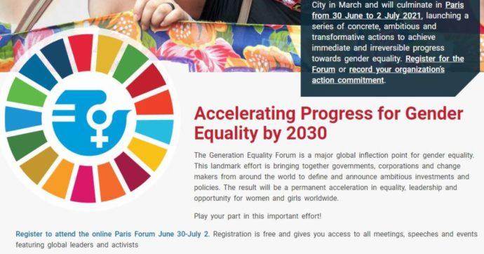 Generation equality forum, lavoriamo per uguaglianza di genere, diritti e alleanze