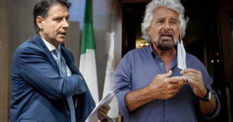 """M5s, c'è l'accordo tra Beppe Grillo e Giuseppe Conte. L'ex premier: """"Soddisfatto, c'è la piena agibilità politica per il leader del Movimento"""""""