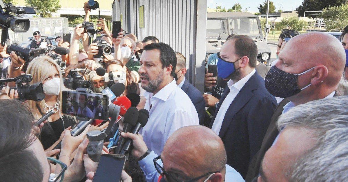 Mattanza dei detenuti: Salvini sta dalla parte degli agenti