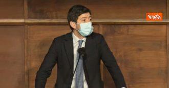 """Speranza: """"La pandemia non è finita. Dobbiamo tenere altissimo il livello di attenzione a causa delle varianti"""""""