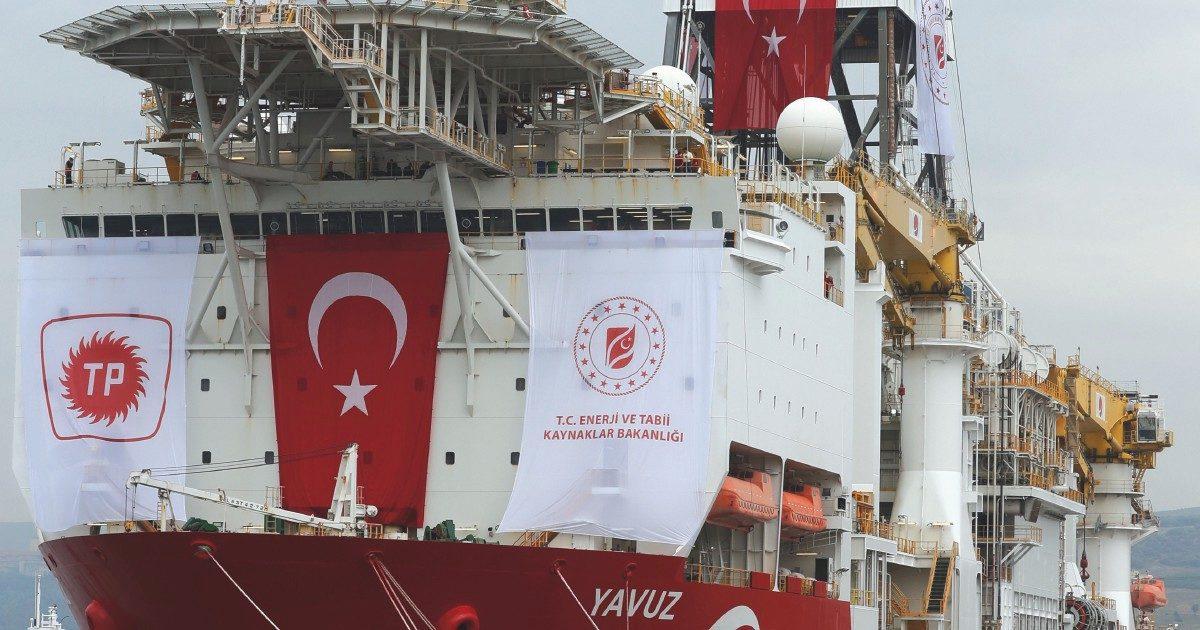 """Erdogan, il  Mediterraneo è """"suo"""""""