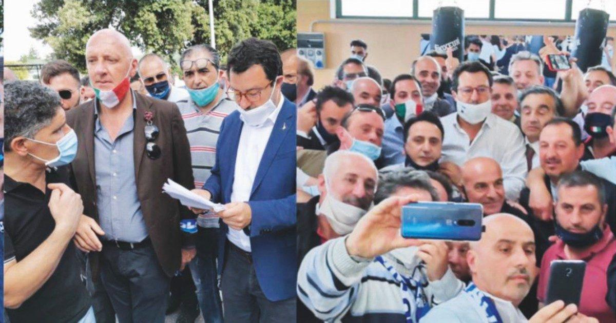 Quando Salvini abbracciava i torturatori