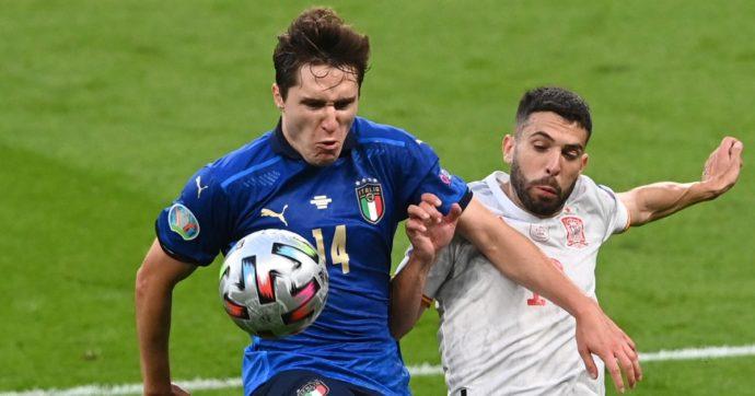 Europei 2021 – Tiri Mancini   La Spagna domina, ma l'Italia vince: questione di cuore