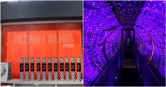 A Milano apre il Museo delle Illusioni: rompicapi e giochi di specchi tra scienza e divertimento