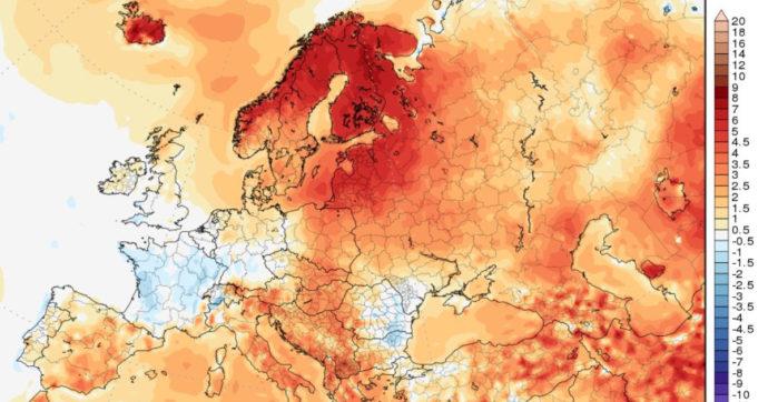 Riscaldamento globale, al circolo polare artico le stesse temperature di Palermo. Nel Nord della Norvegia 34 gradi
