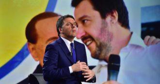 """""""Reddito di cittadinanza diseducativo e clientelare"""". La scelta di campo di Renzi: l'asse con Salvini viene prima dei poveri"""