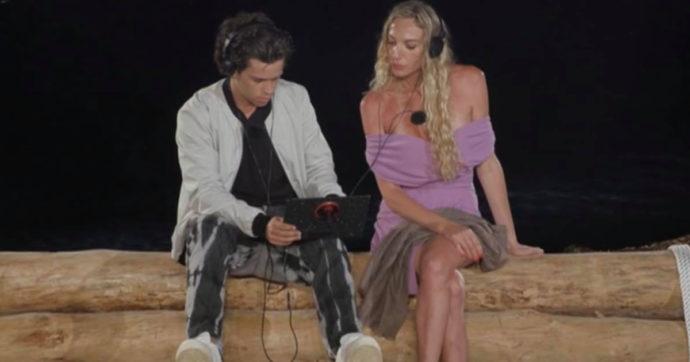 """Temptation Island, Tommaso tradisce Valentina e spiega: """"Ti ho sognata con un braccio a metà, io sono geloso del tuo corpo"""""""