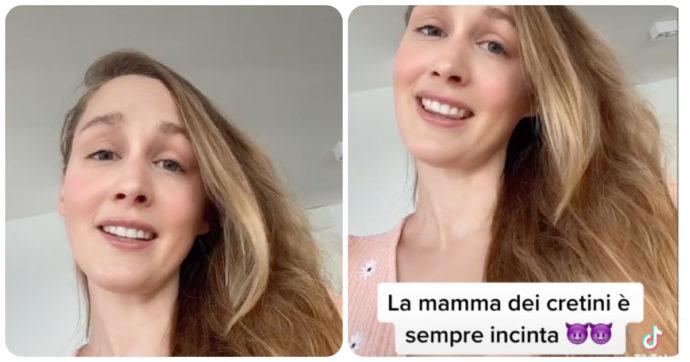 """Europei 2021, tifosa del Belgio risponde agli insulti degli italiani: """"La mamma dei cretini è sempre incinta"""""""