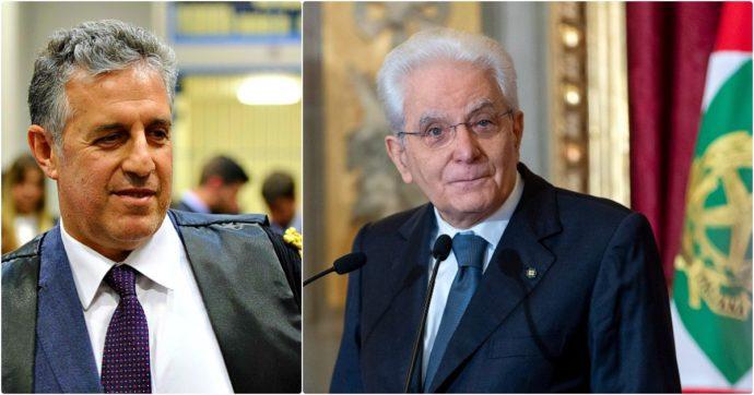"""Le minacce del boss di 'ndrangheta a Di Matteo svelate dal Fatto, la vicinanza di Mattarella al Csm. Il magistrato: """"Onorato"""""""