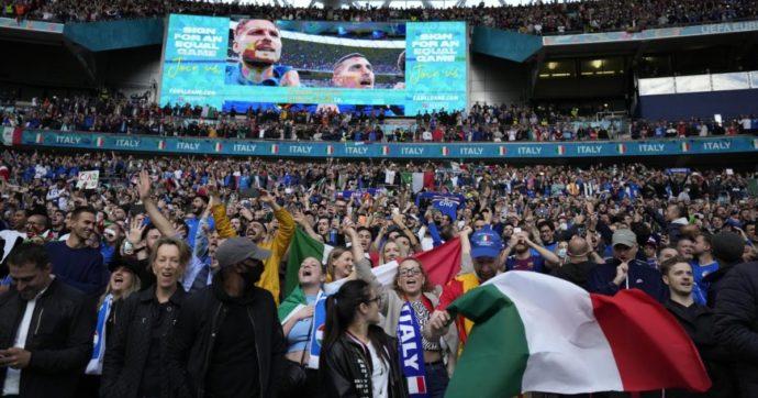 """Europei a Wembley, governo Uk ammette: """"Il rischio focolaio c'è con migliaia di persone in un solo posto. Ma siamo fiduciosi"""""""