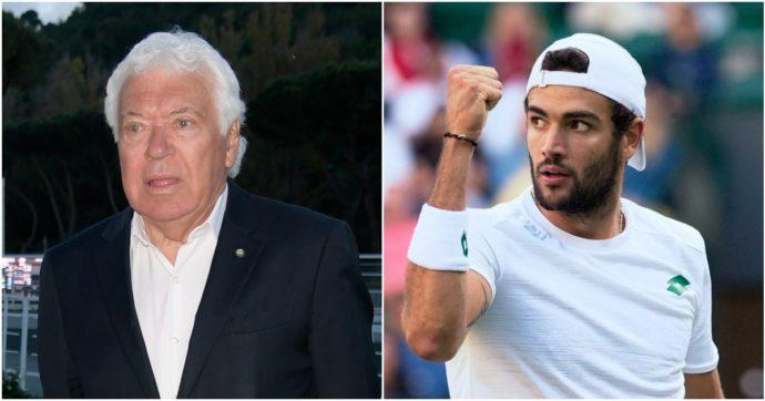 """Berrettini a caccia della finale di Wimbledon contro Hurkacz. Pietrangeli al Fatto.it: """"Può battere il mio record. Sarebbe evento storico"""""""