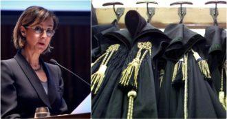 """""""In Italia pochi magistrati"""": oggi l'allarme dell'Ue. Ma la commissione Cartabia ha abbandonato la proposta  che avrebbe aumentato i giudici in appello"""