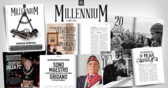 """Massoneria, Cecchi Paone: """"Sono maestro di terzo grado e la mia famiglia ruppe con Gelli"""". L'intervista su FQ MillenniuM in edicola"""