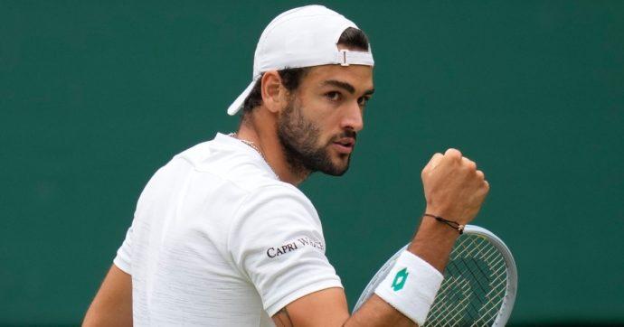 Matteo Berrettini è nella storia: prima finale a Wimbledon per un tennista italiano. Hurkacz liquidato in 4 set, domenica gioca per il trofeo