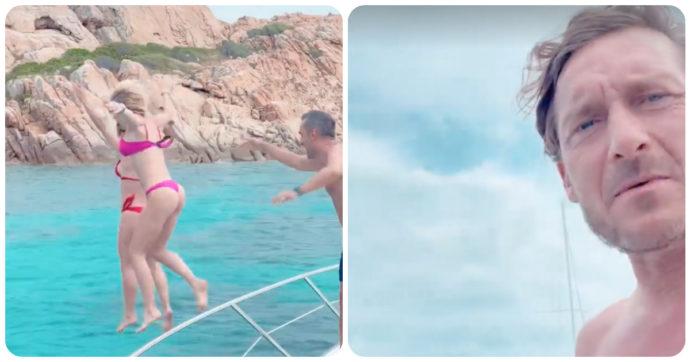 Michelle Hunziker e Ilary Blasi in vacanza con Nicola Savino. Francesco Totti reagisce così