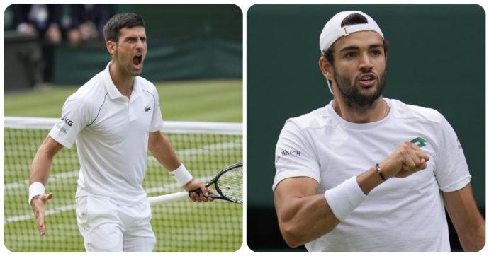 Berrettini-Djokovic, dove e quando vedere la finale di Wimbledon