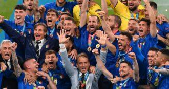 Italia-Inghilterra, le pagelle degli azzurri: il capolavoro di Mancini, Donnarumma-Bonucci da 9 e Chiellini è ancora un muro invalicabile