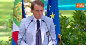 Euro 2020, Mancini al Quirinale: